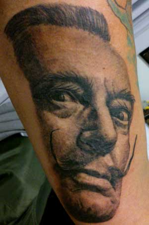 salvador-dali-tattoo