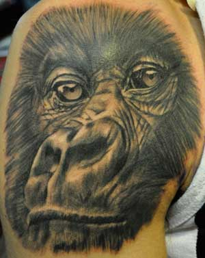 monkey-tattoo